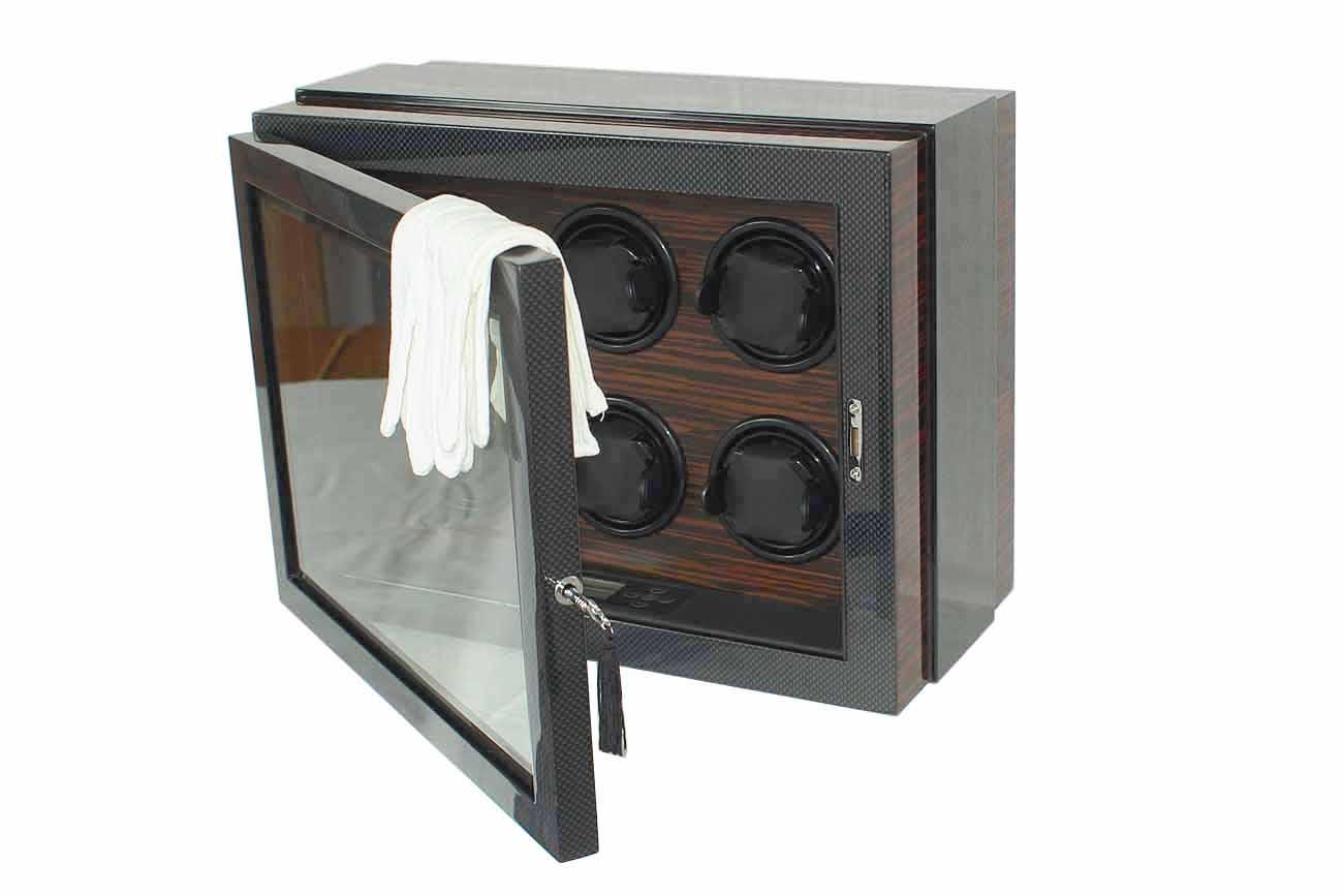 luxus uhrenbeweger f r 6 uhren lifestyle topshop. Black Bedroom Furniture Sets. Home Design Ideas
