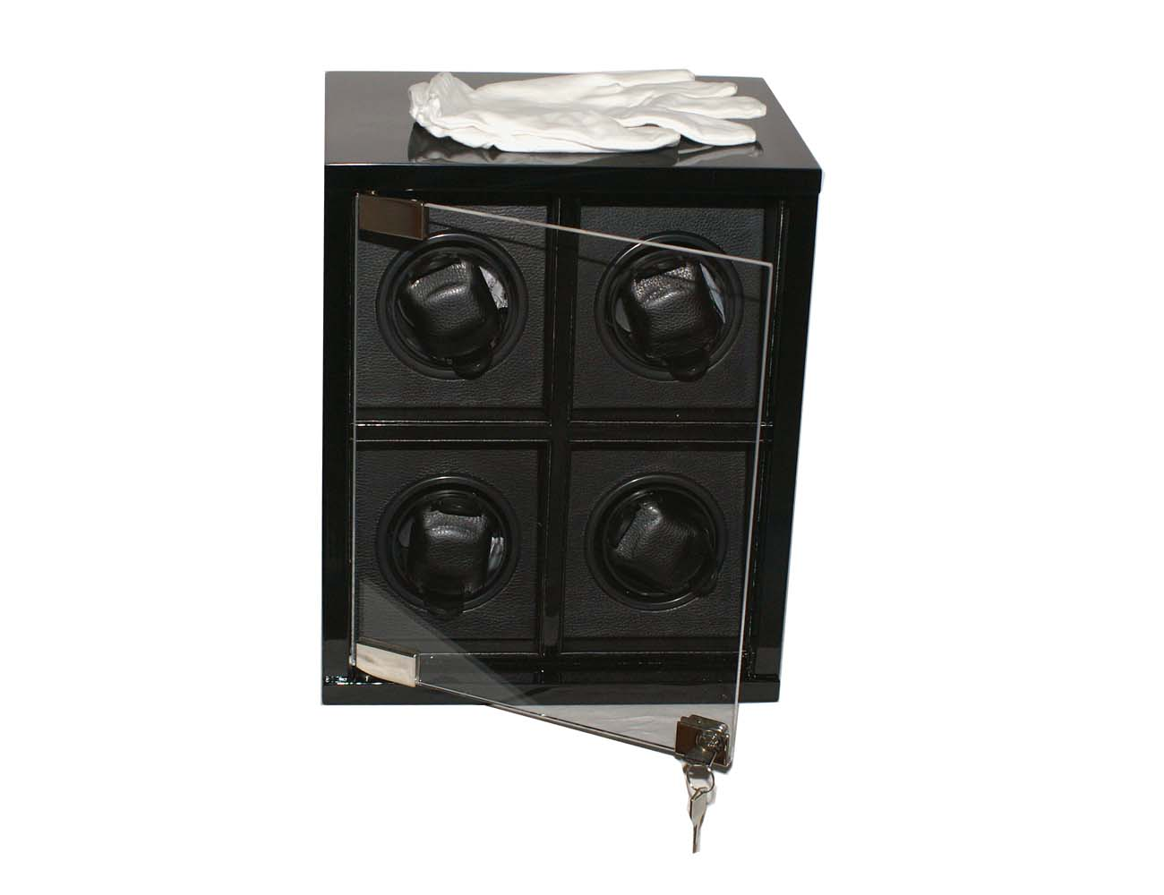luxus uhrenbeweger f r 4 uhren lifestyle topshop. Black Bedroom Furniture Sets. Home Design Ideas