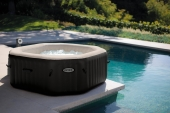Pure Spa Whirlpool von INTEX – SPA 79 Bubble + Jet